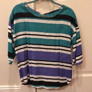 NWT Zara Stripe Blouse